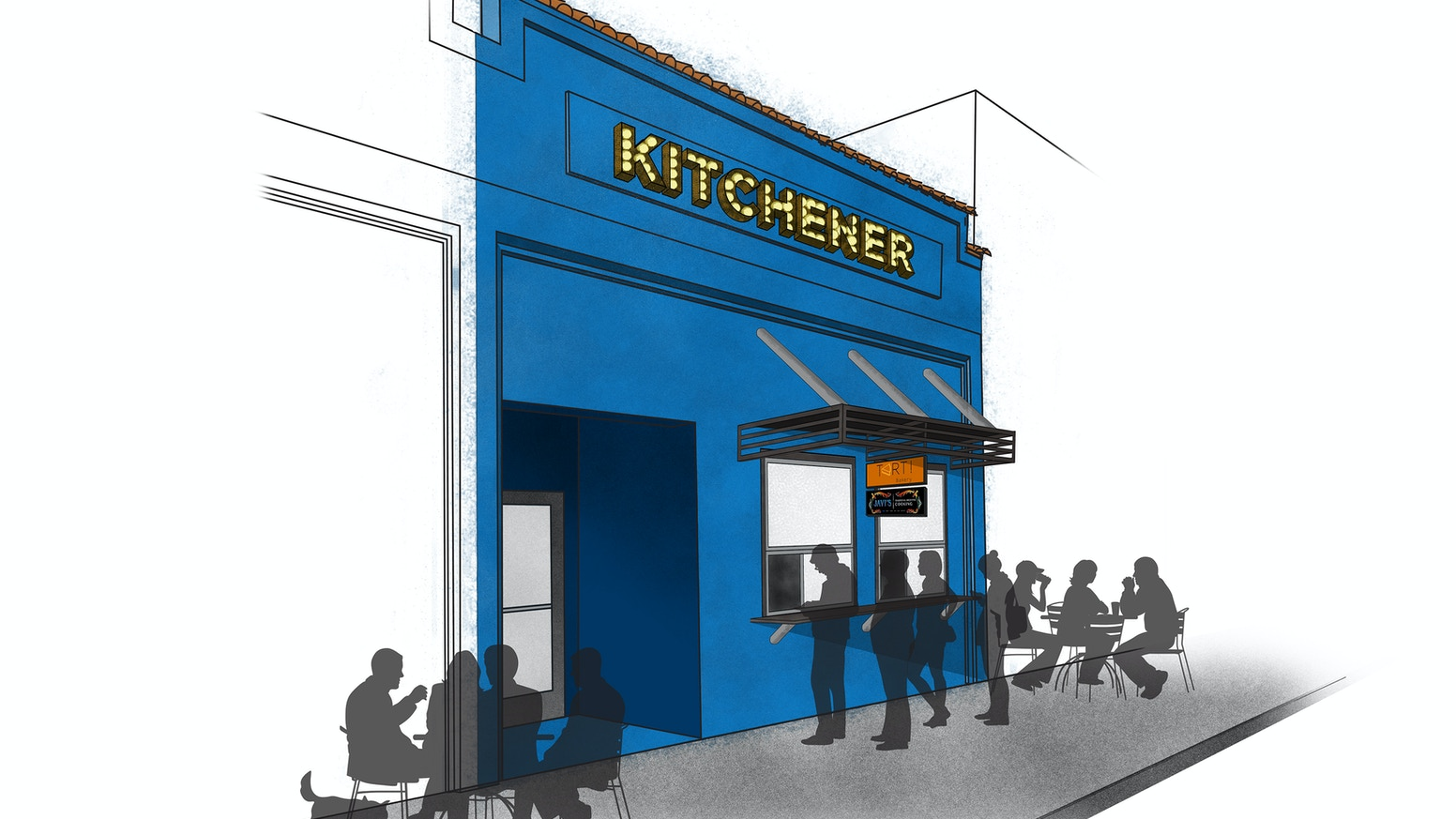 A Food Lover\'s Dream: The Kitchener Snack Bar by Kitchener Oakland ...