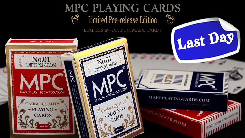 MPC Pre-release Limited Edition Playing Cards project video thumbnail