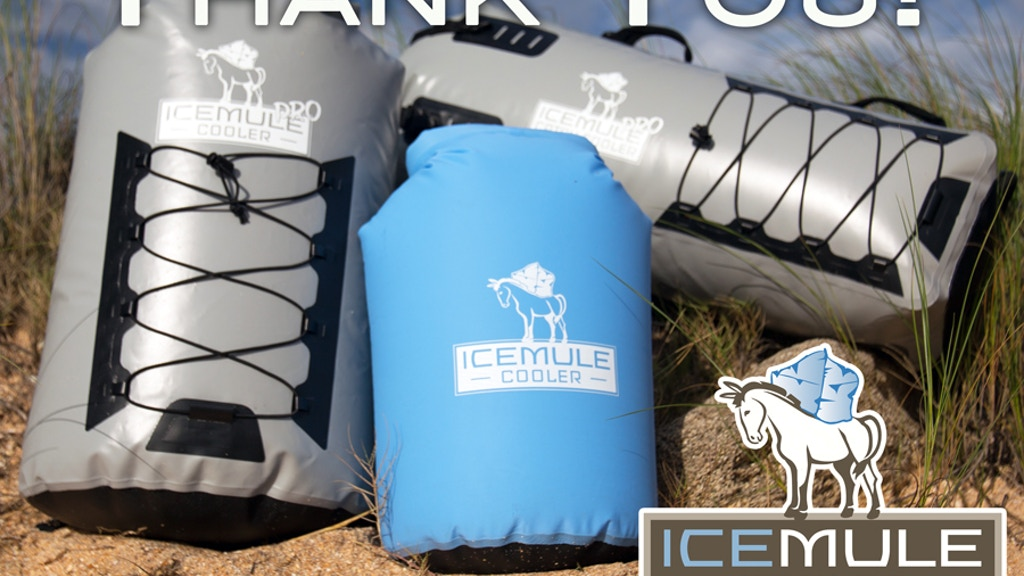 IceMule: The world's most portable high-performance coolers. project video thumbnail