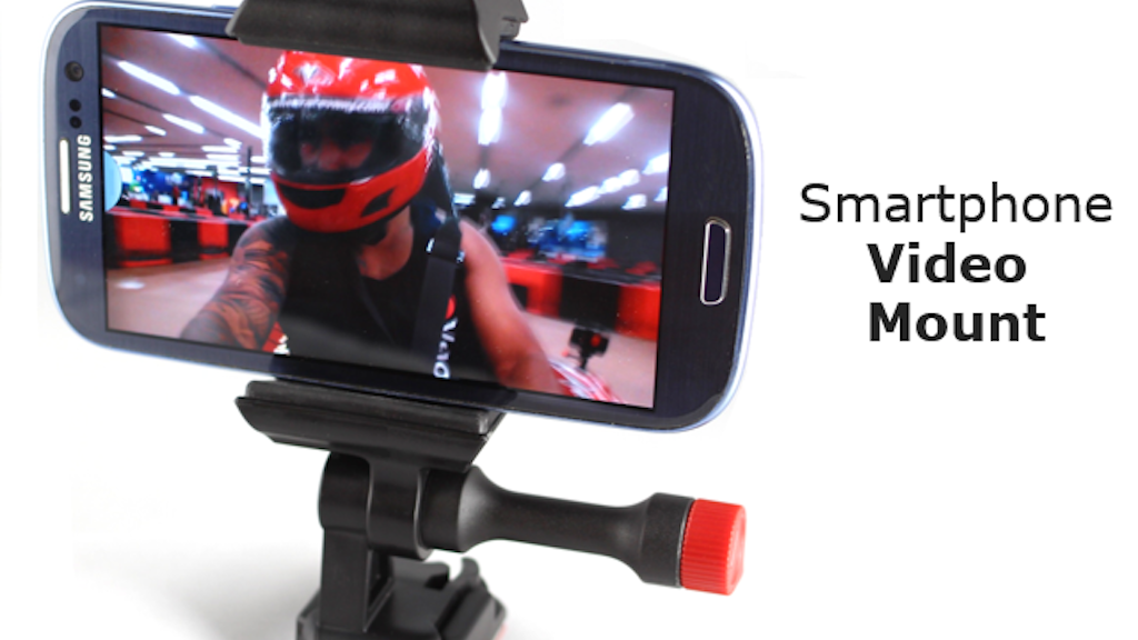 Velocity Clip V2, your Android & iPhone Video Mount! project video thumbnail