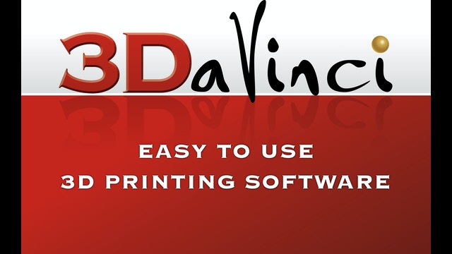 3davinci Easy To Use 3d Modeling Software For 3d Printing