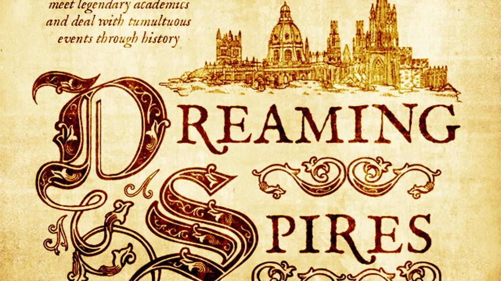 Dreaming Spires project video thumbnail
