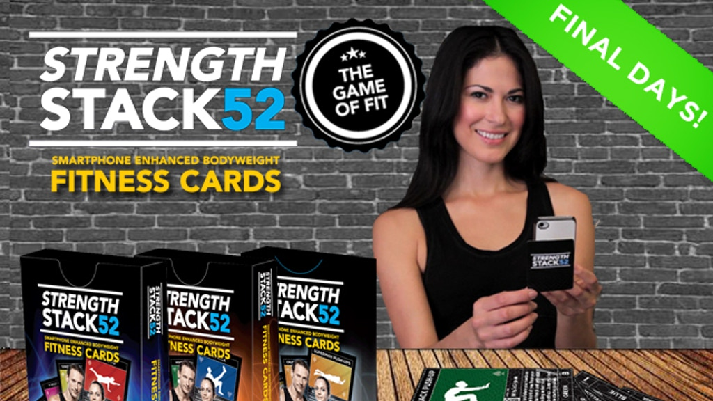 Exercise Cards: Strength Stack 52- THE GAME OF FIT project video thumbnail