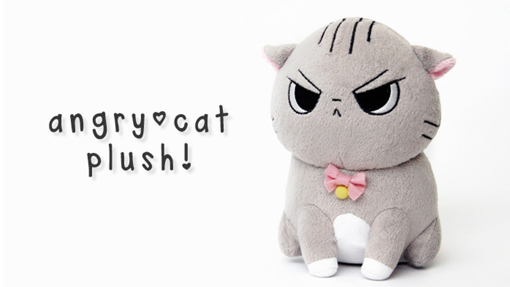 Angry Cat Plush! project video thumbnail