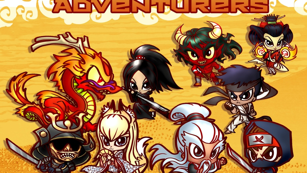 Chibi Asian Adventurers Miniatures w/ Ninjas & More project video thumbnail