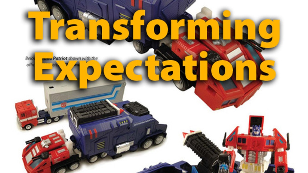 Transforming Expectations Toy Reference Book project video thumbnail