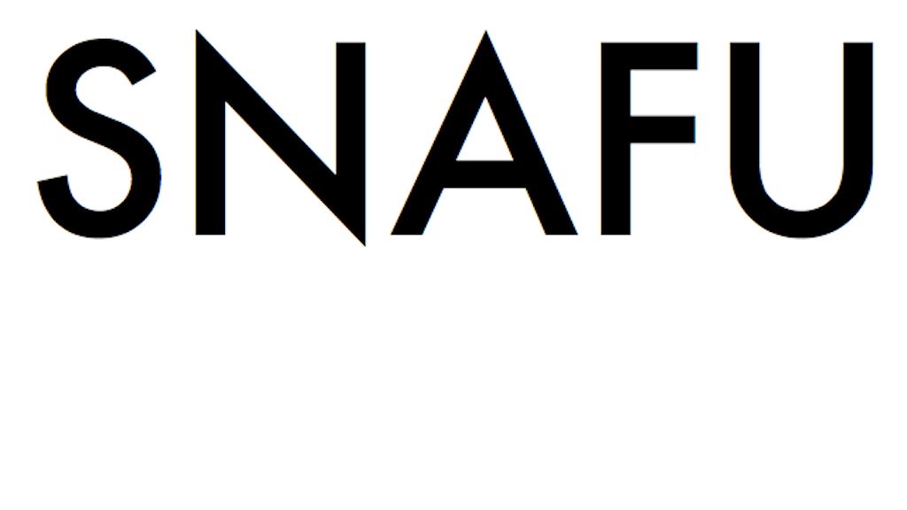 SNAFU project video thumbnail
