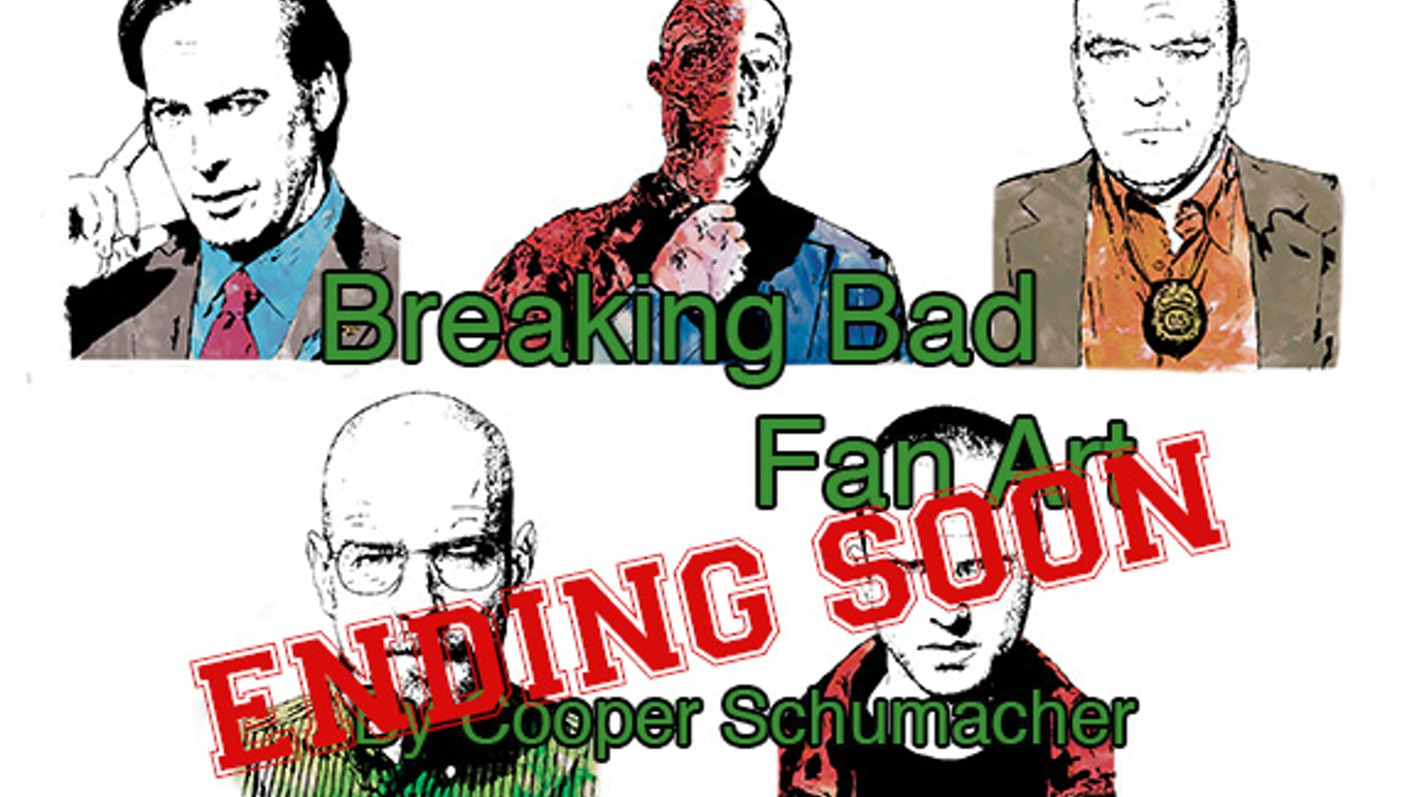 Breaking Bad Fine Art Prints by Cooper Schumacher — Kickstarter