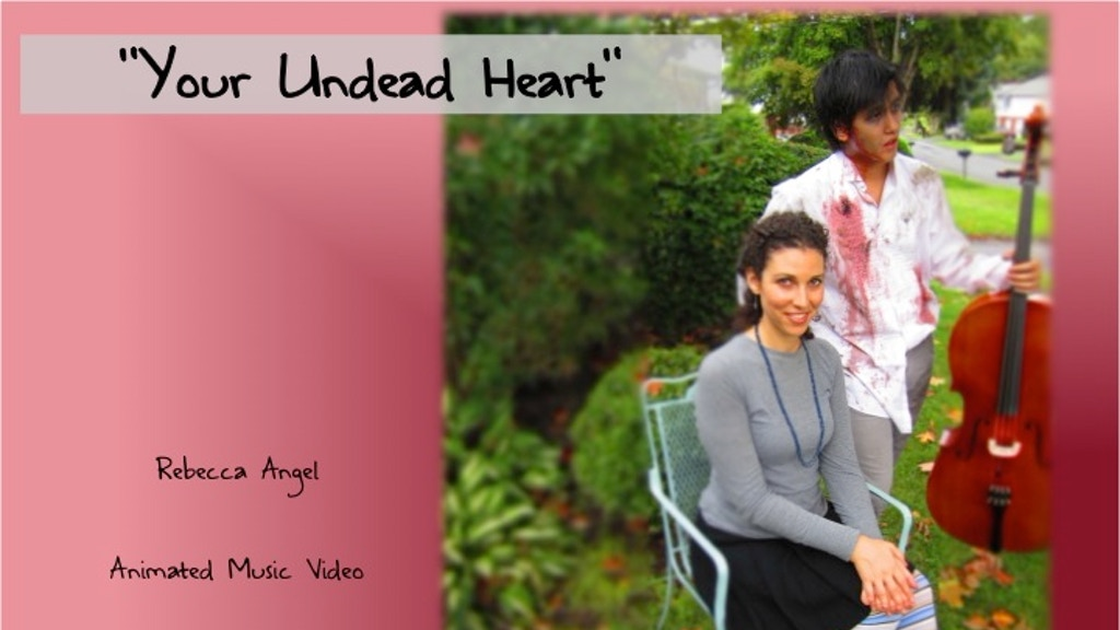 """""""Your Undead Heart"""" Music Video project video thumbnail"""
