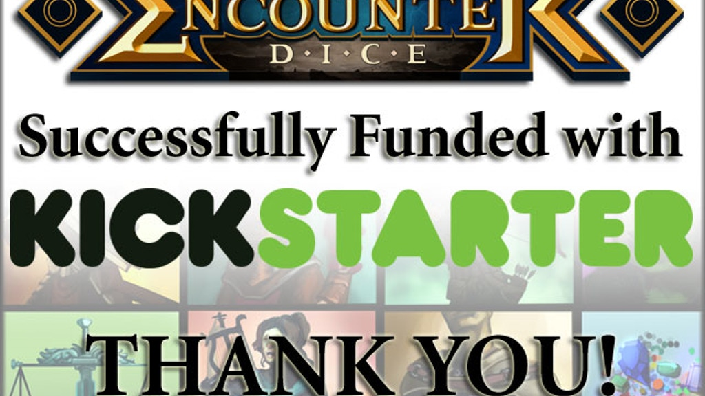 Encounter Dice - The NPC Pack - Adventure in Full Colour project video thumbnail