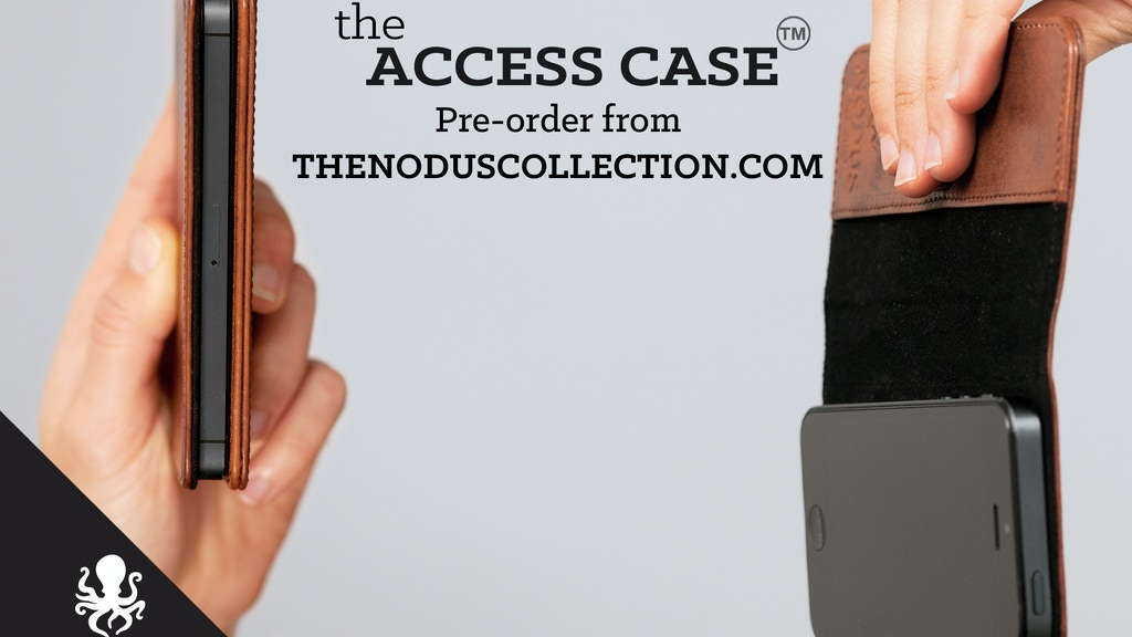 The Access Case - Slim Leather Micro Suction- iPhone/S4/iPad project video thumbnail