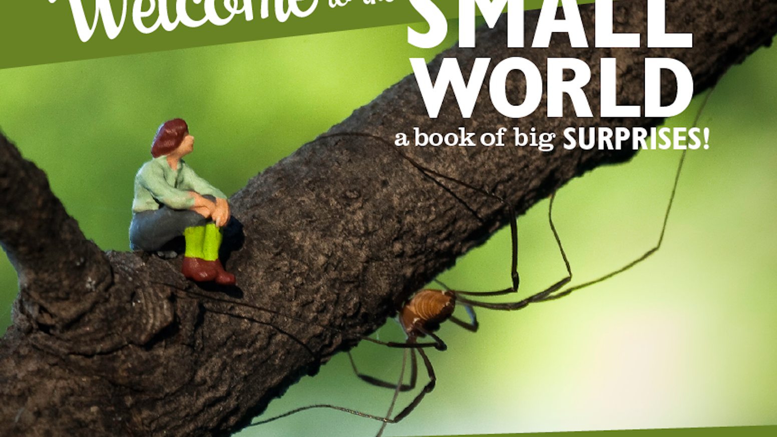 There are tiny people living right here in our big world. And here's our book to prove it.
