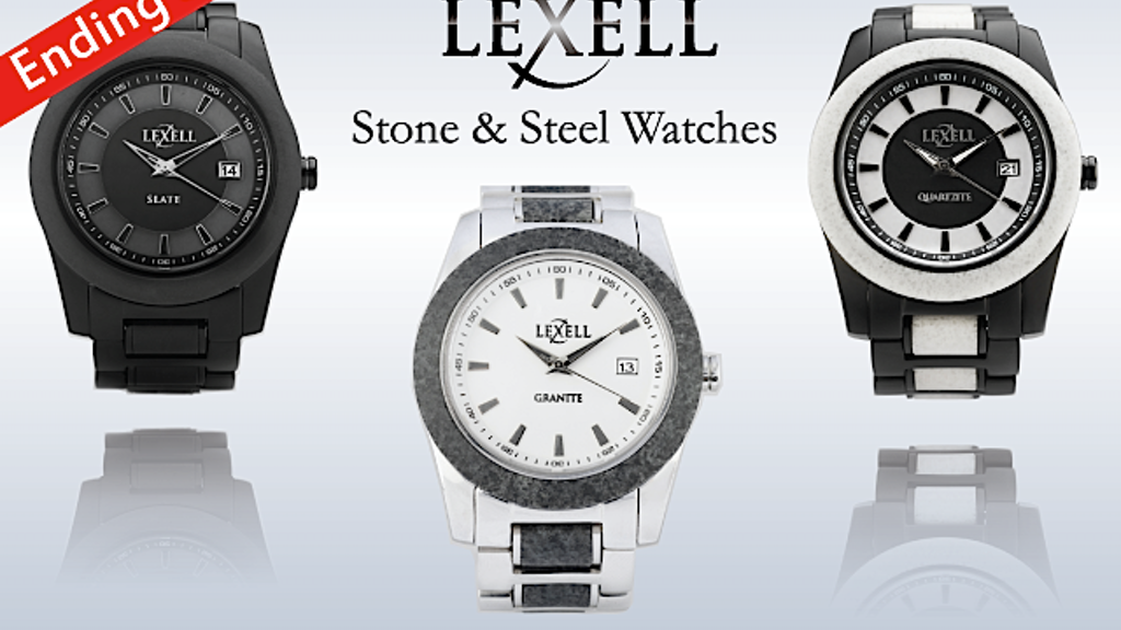 Lexell Stone Watches: A Stone & Stainless Steel Watch project video thumbnail