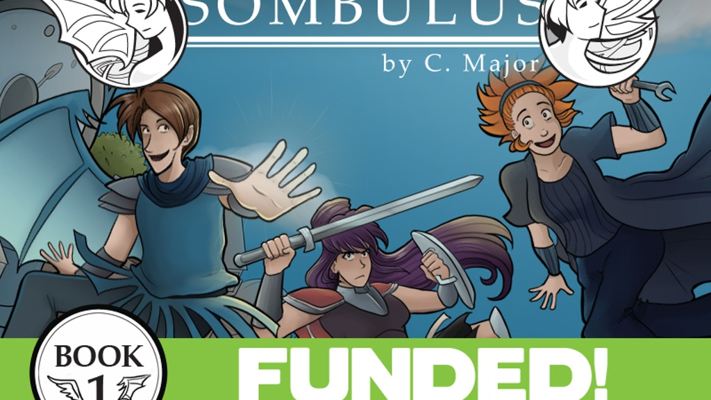 Sombulus, Book 1 - A Fantasy Adventure Comic project video thumbnail