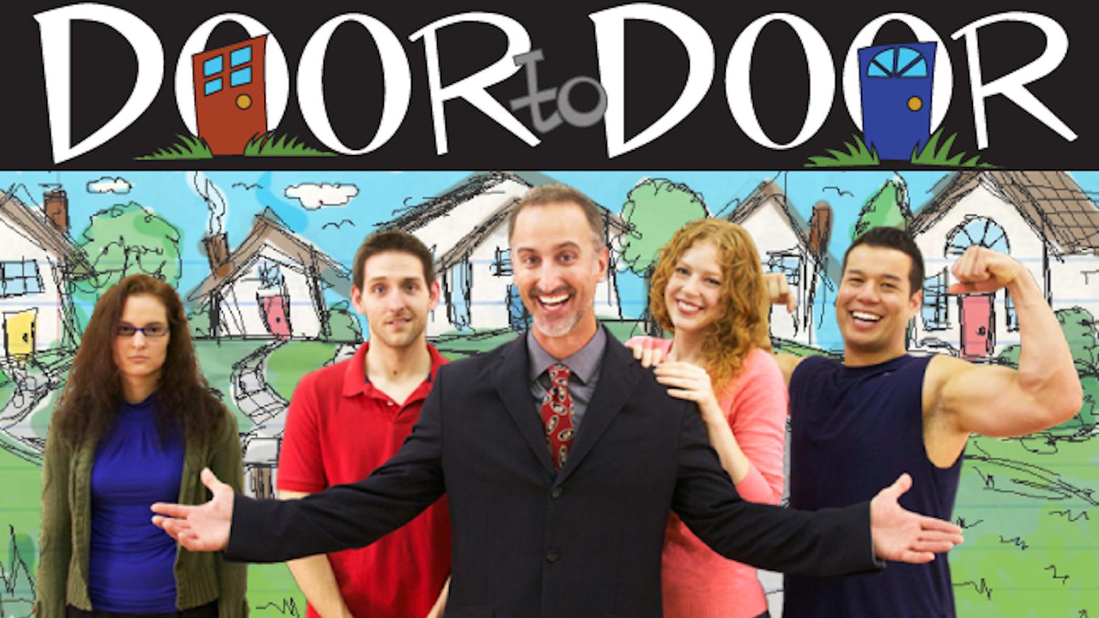 Season 1 of Door to Door the Web Series by Rachel Woodhouse