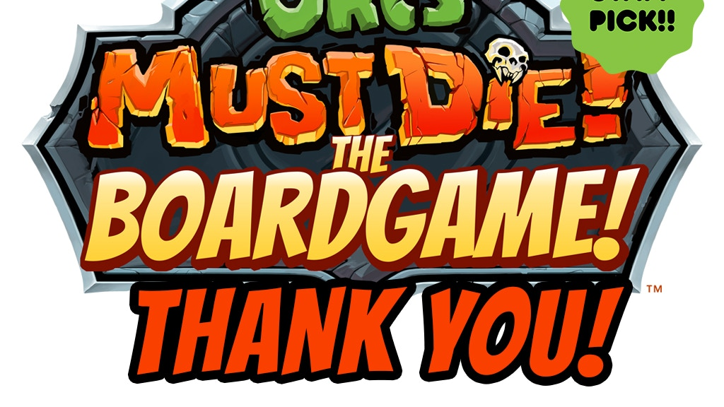 Orcs Must Die! The Boardgame project video thumbnail