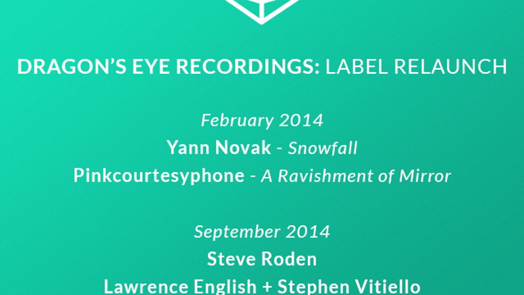 Dragon's Eye Recordings: Label Relaunch project video thumbnail