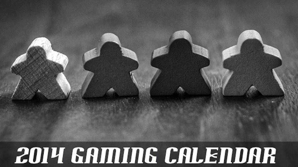 2014 Gaming Calendar project video thumbnail