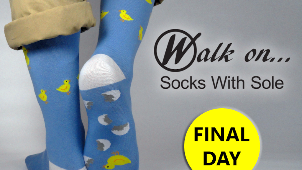 Walk On...Socks With Sole project video thumbnail