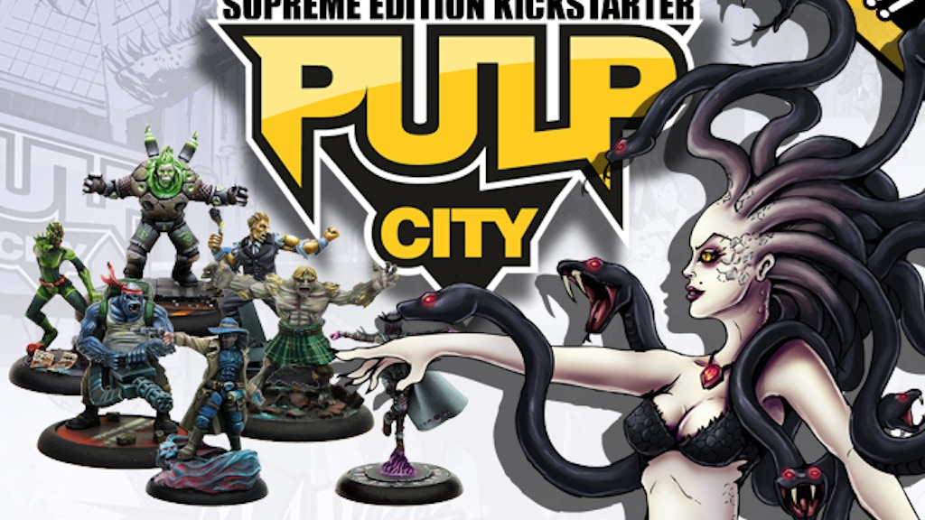 Pulp City: Supreme Edition project video thumbnail