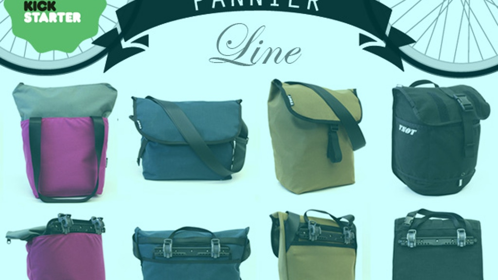 Pan-Yay! Urban Bike Bags & Bicycle Pannier for any Bike Rack project video thumbnail