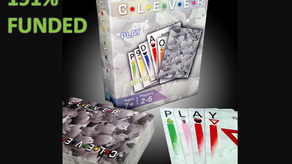 CLEVER - The Card Game! project video thumbnail
