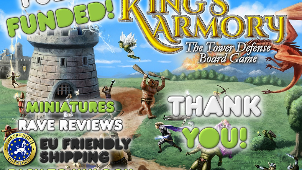 The kings armory the tower defense board game by john wrot the kings armory the tower defense board game project video thumbnail stopboris Gallery