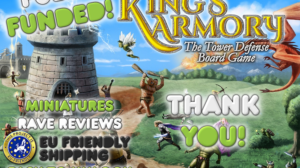 The King's Armory - the Tower Defense Board Game project video thumbnail