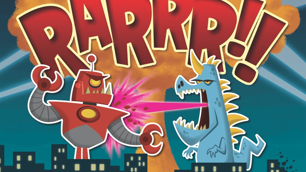RARRR!!! Monster-Building, City-Stomping Card Game (Reboot!) project video thumbnail