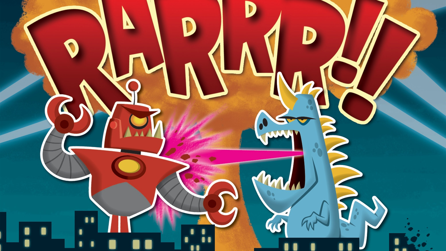 Build terrifying monsters and send them out to pulverize cities in this raucous card game from APE Games, makers of Kill the Overlord! You can still get RARRR!! - just click the button below!