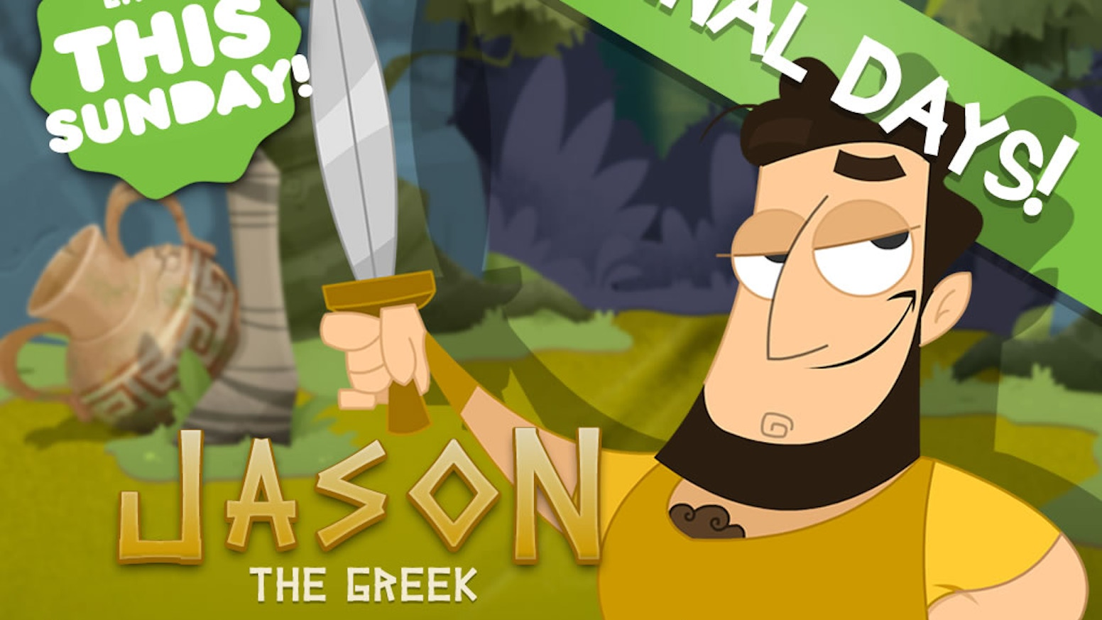A point and click adventure set in Ancient Greece? You'd FETA believe it! It's Jason and The Argonauts meets Captain Kirk!