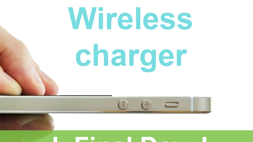 Slimo - wireless portable iPhone charger - No cases required project video thumbnail