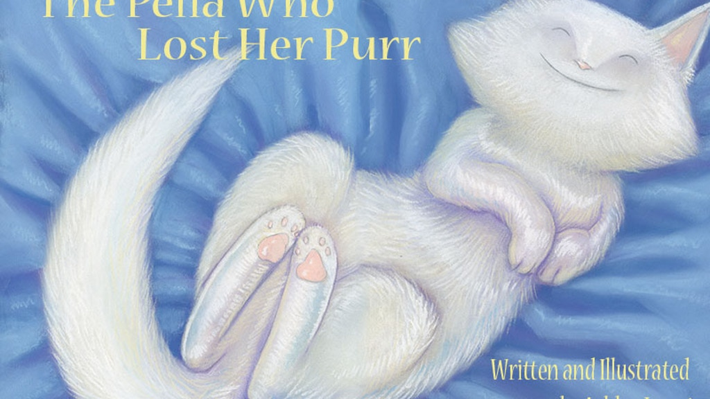 The pella who lost her purr by ashley lanni kickstarter for Ashley motors jacksonville nc