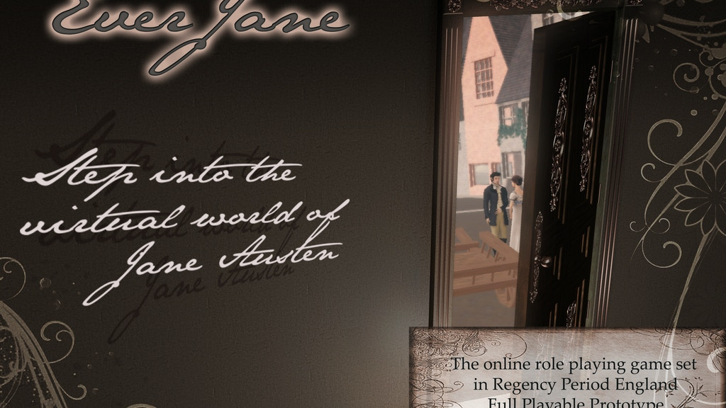 Ever, Jane: The Virtual World of Jane Austen project video thumbnail