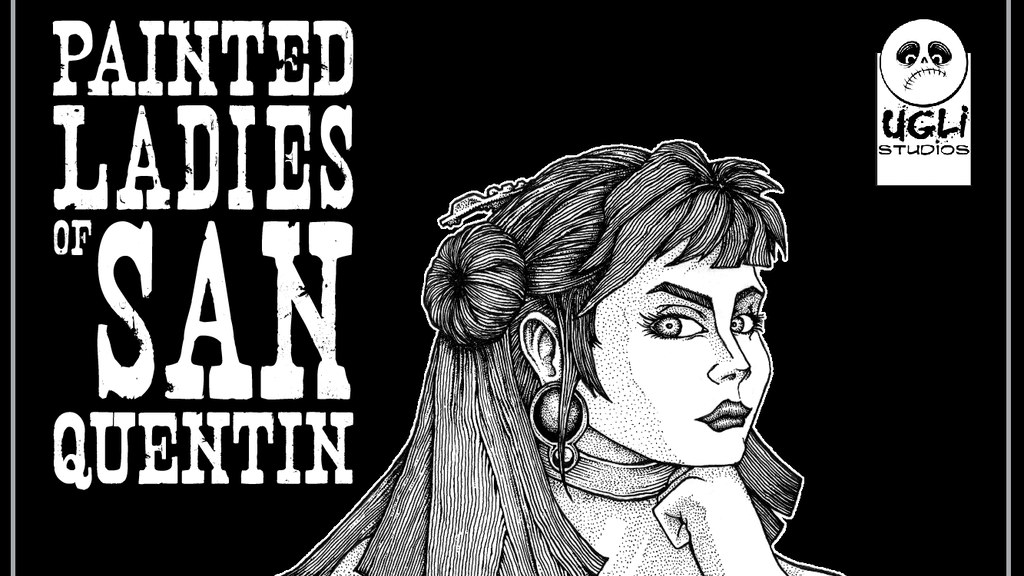 Painted Ladies of San Quentin - Black & White Edition project video thumbnail