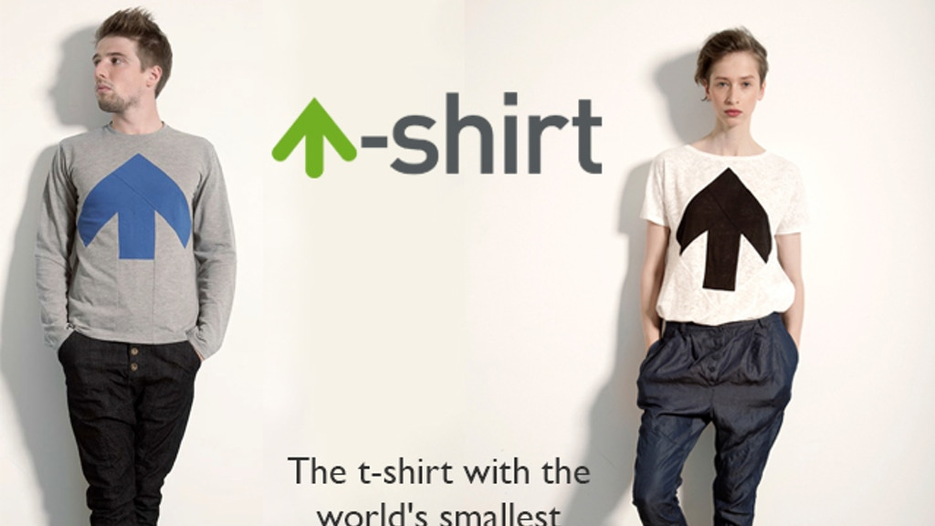 Up-Shirt. The tee with the tiny environmental footprint. project video thumbnail