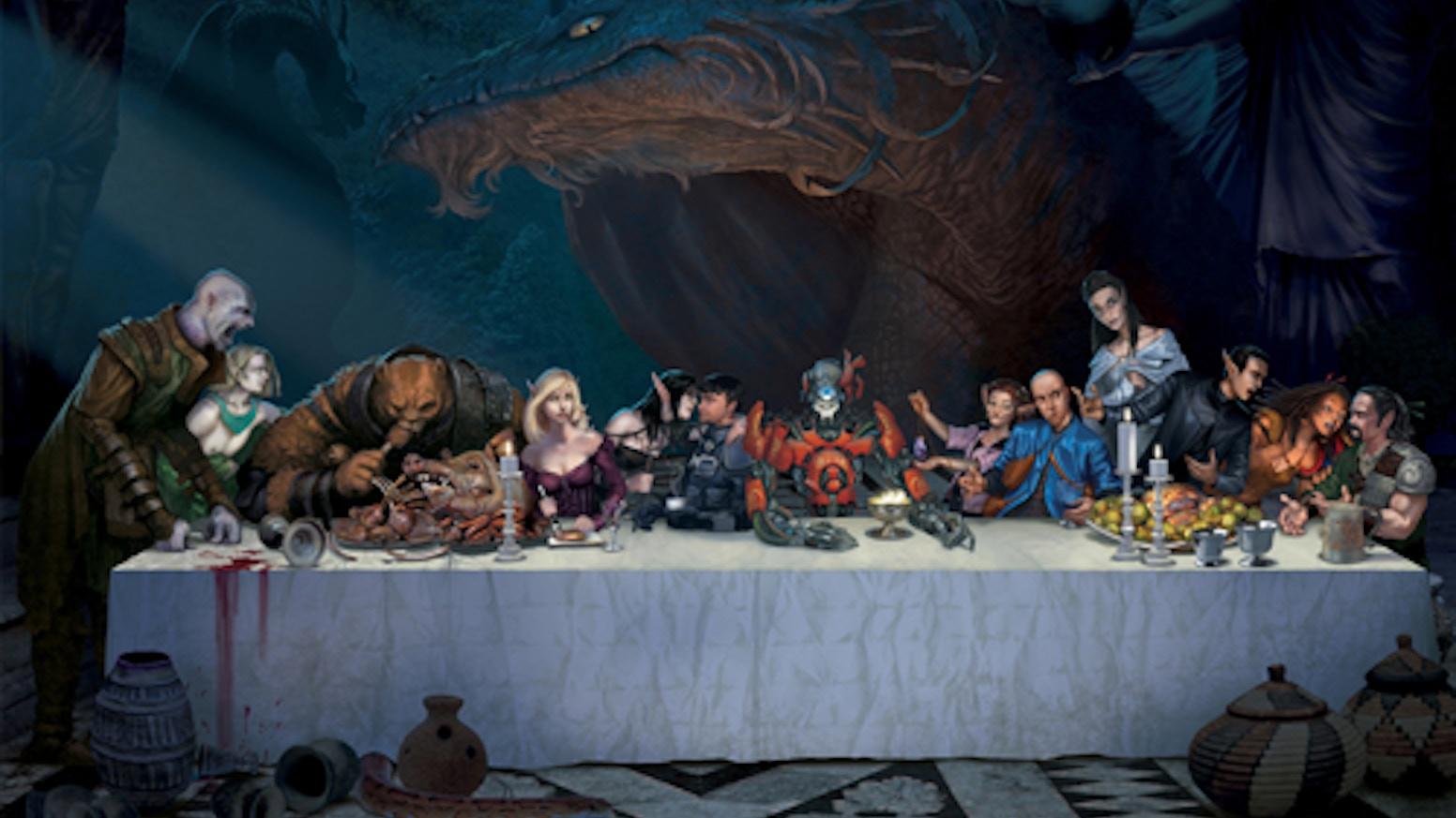 Amethyst - Fantasy & Technology Collide by Chris Dias
