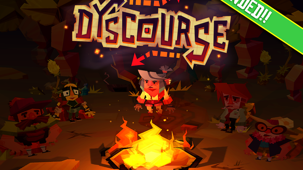 DYSCOURSE: Survivors, Choose Wisely. by Owlchemy Labs — Kickstarter