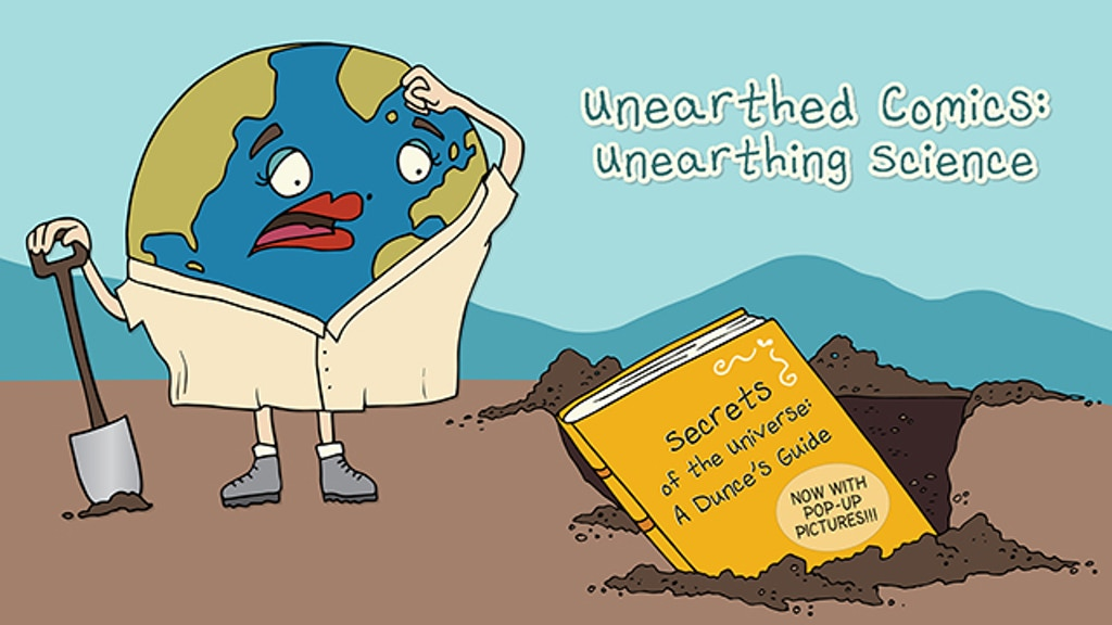 Unearthed Comics: Unearthing Science - The Book project video thumbnail