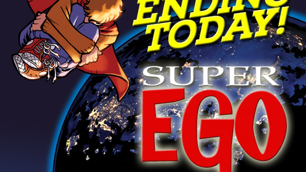 SUPER-EGO, a comic about superheroes who need help. project video thumbnail