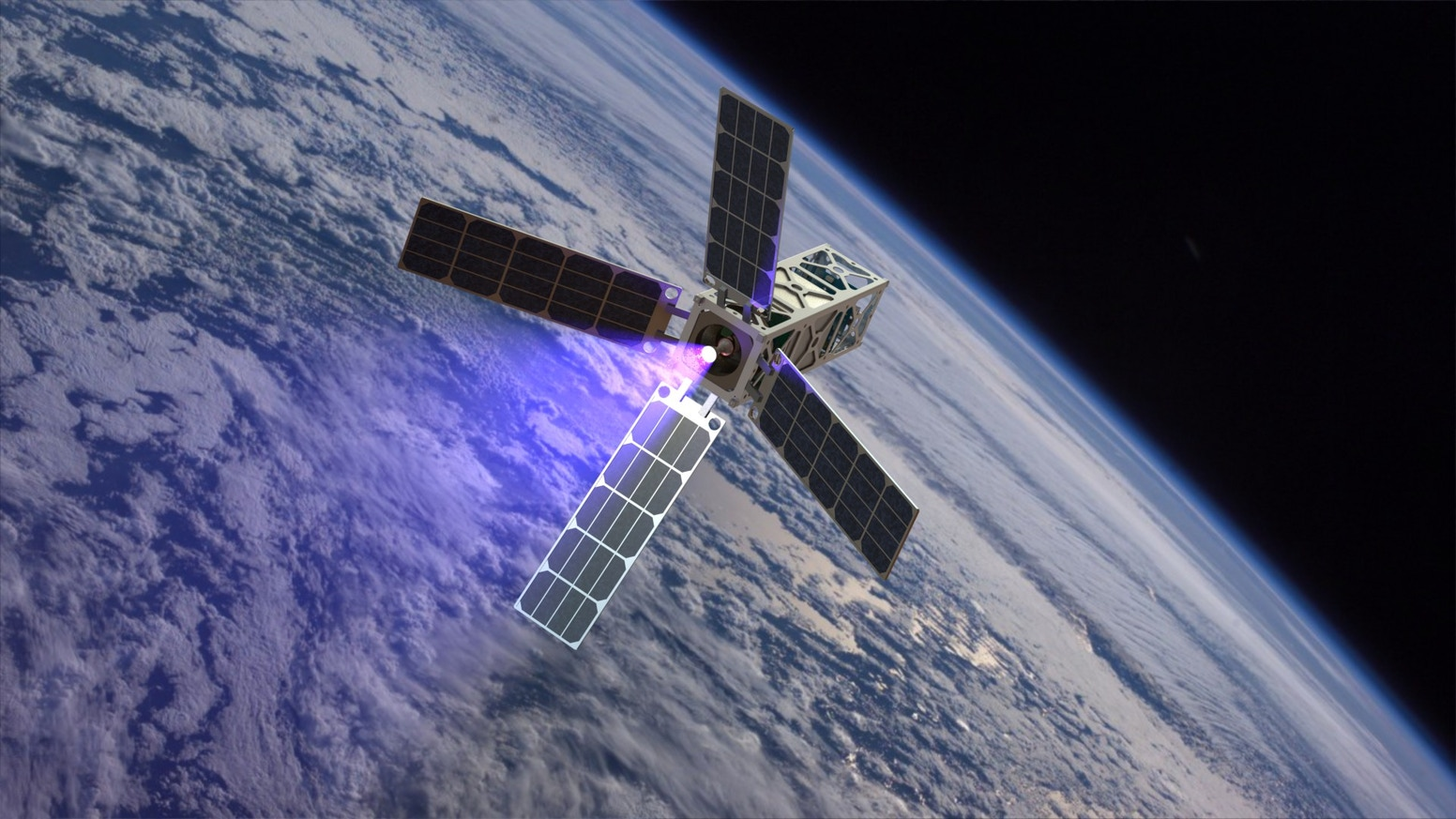 CAT Launch A Water Propelled Satellite Into Deep Space
