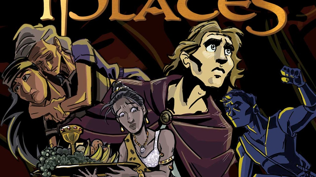 iPlates: A Book of Mormon Comic Book project video thumbnail