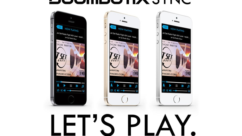 Boombotix Music Sync App project video thumbnail