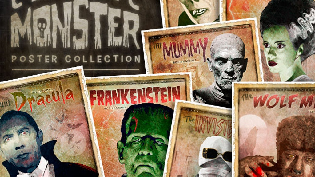Classic Monster Posters project video thumbnail