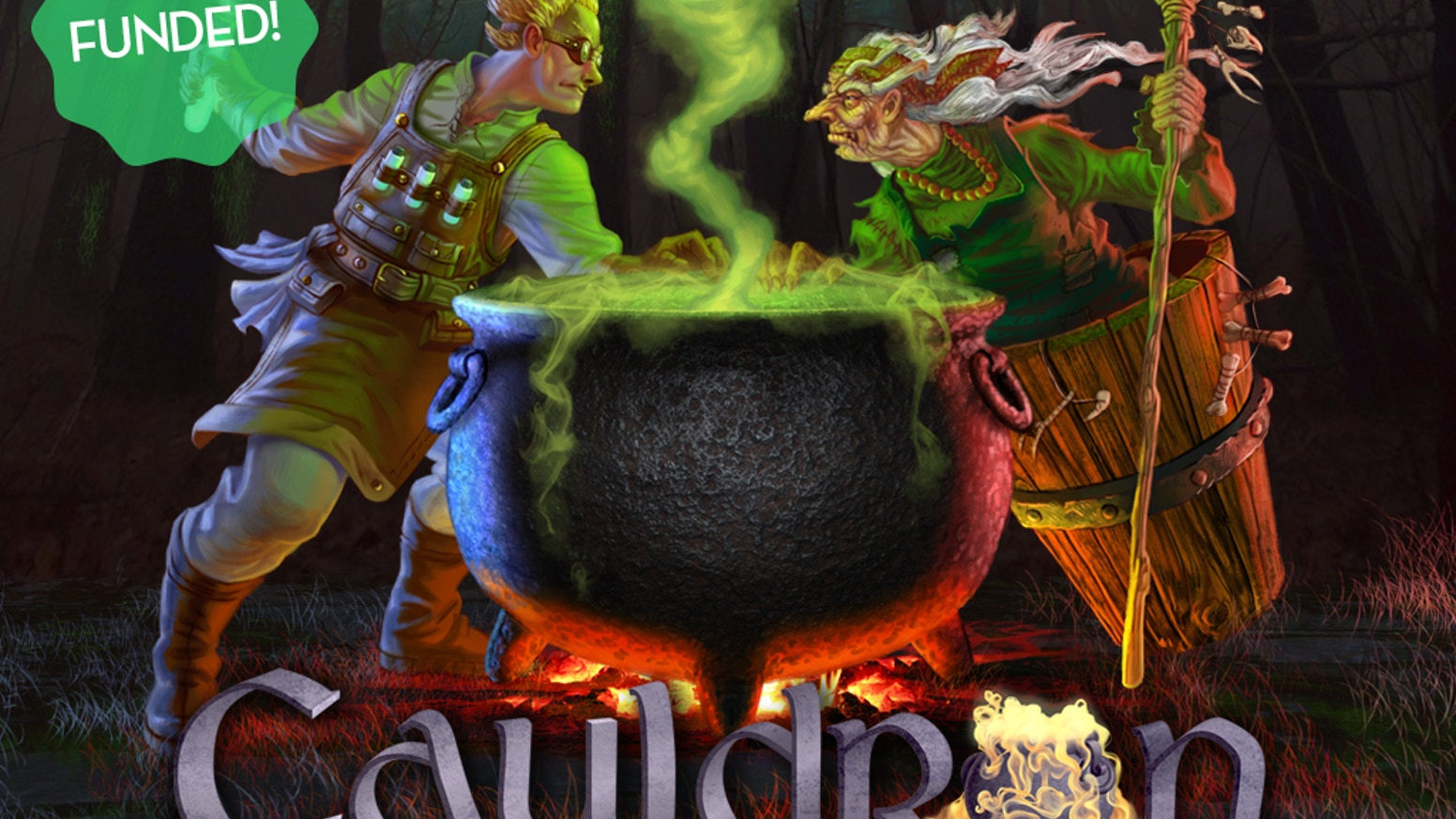 Harvest ingredients, brew potions and cast spells in this light, fun and highly interactive game (2-5 players, 60-90 minutes, ages 11+)