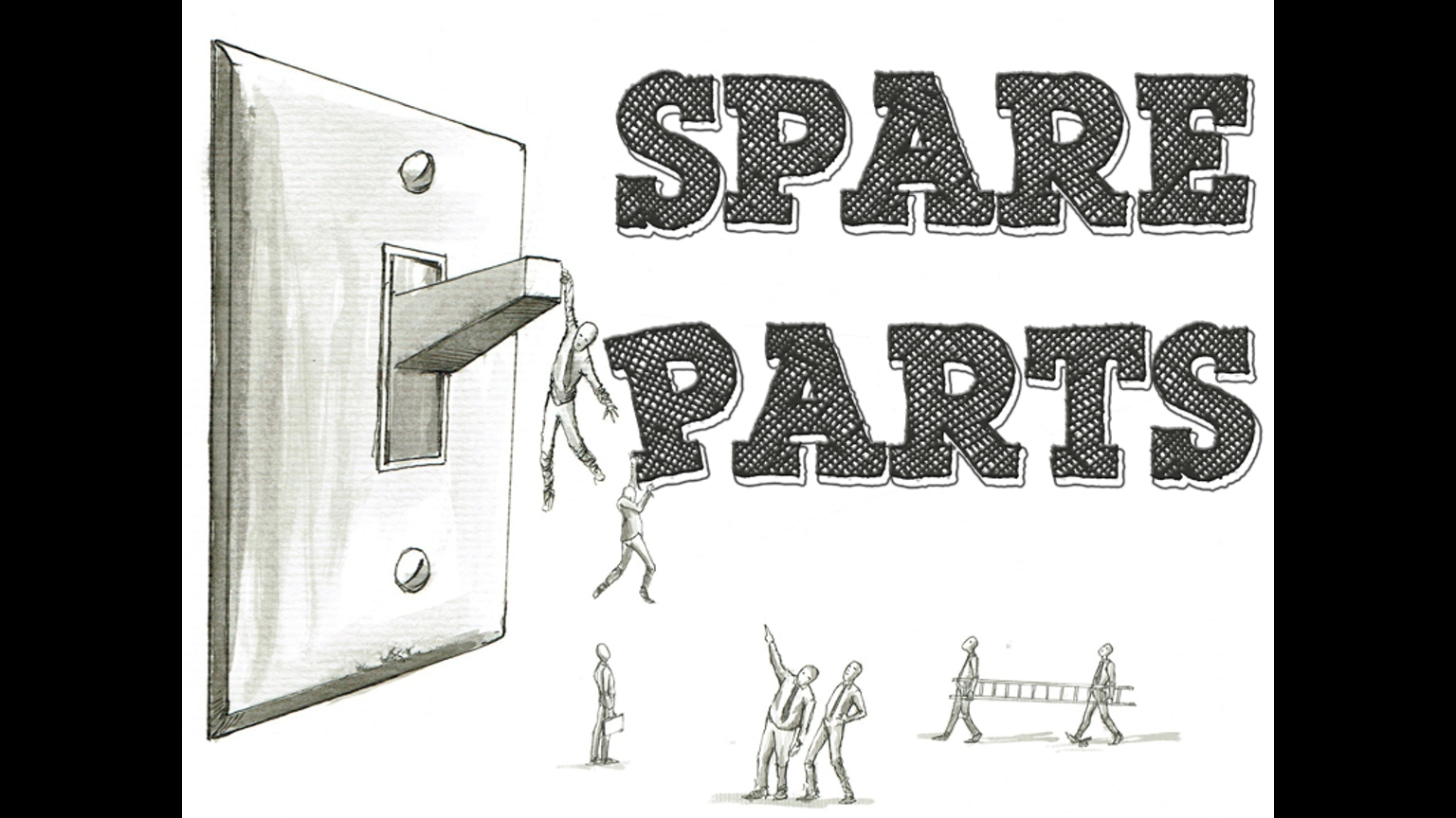 Spare Parts Mail: Spare Parts' New Self-Titled Album By Spare Parts —Kickstarter