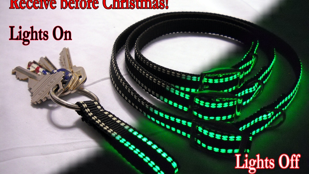 WEE-GLO Glow In The Dark Pet Collars, Key Chains and More! project video thumbnail