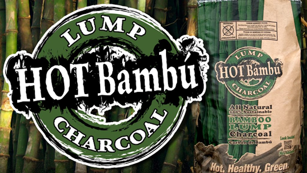 Sustainably produced Hot Bambú charcoal made in the U.S! project video thumbnail