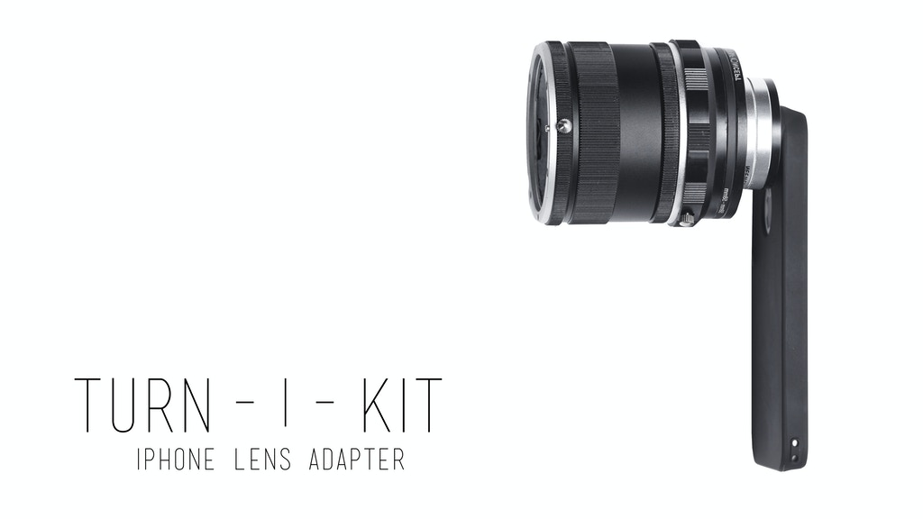 TURN-I-KIT  a Lens adapter for your iPhone 5 & 5S project video thumbnail