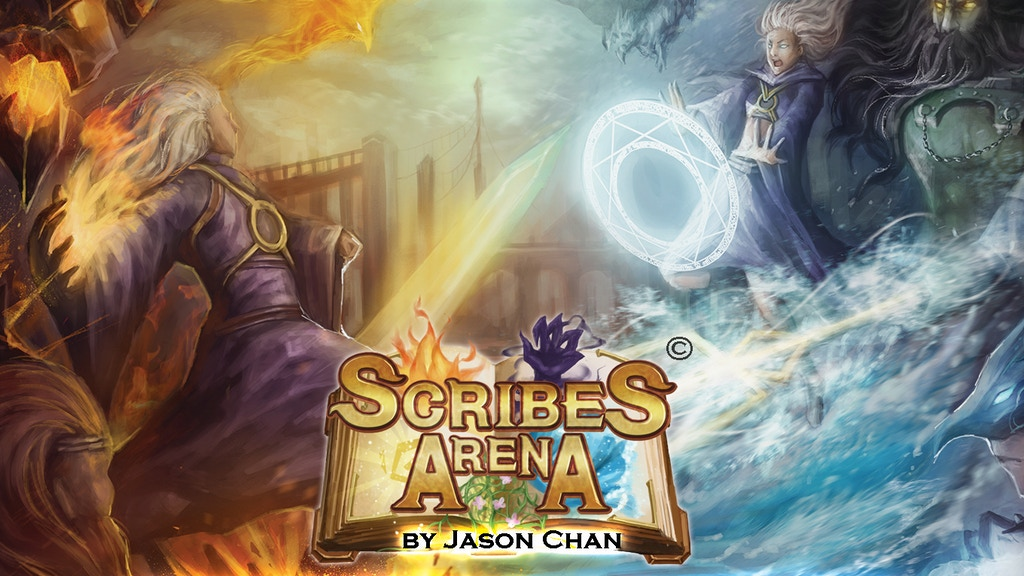 Scribes Arena - A Fantasy-Themed Word-Solving Game project video thumbnail